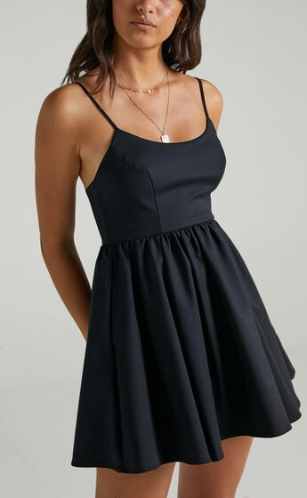 You Got Nothing To Prove Dress in Black