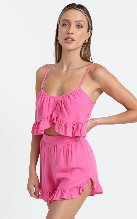 Samira Two Piece Set in Pink