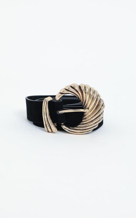 Calan Belt in Black