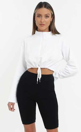 Justice Top in White