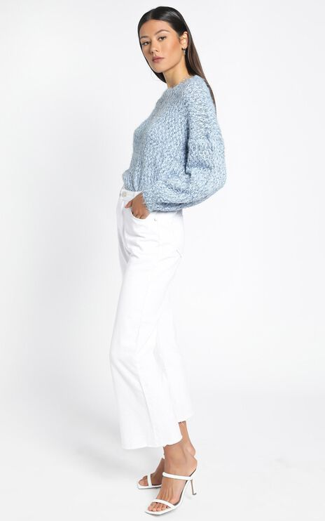 Gwyneth Jumper in Blue Marle