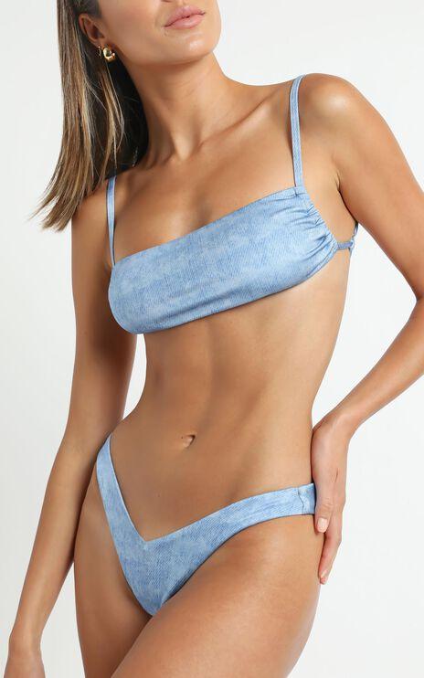Lioness - The Mouna Bikini in Denim