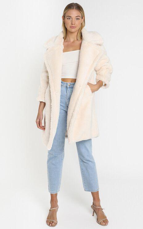 Olwen Coat in Cream