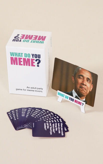 What Do You Meme , White, hi-res image number null