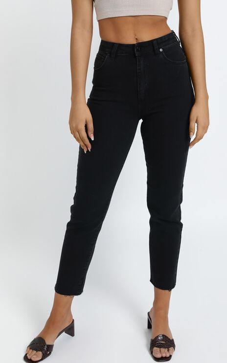 Abrand - A 94 High Slim Jean in 90210 Raw