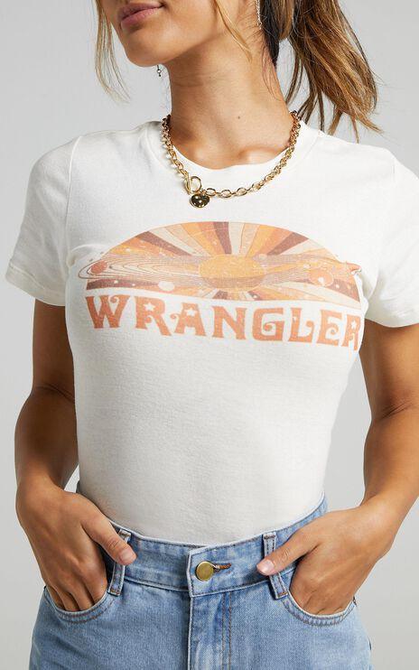 Wrangler - Summervilled Tee in Ecru