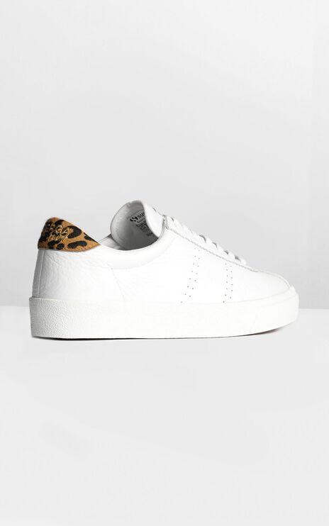 Superga - 2843 Comflea Leopard In White Animalier