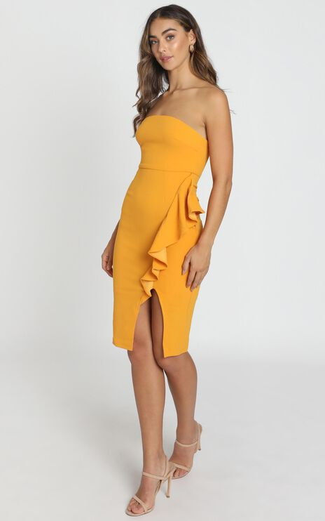 Anita Dress In Mustard