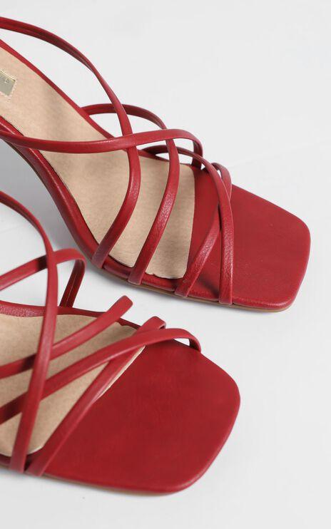 Billini - Scout Heels in Dark Red