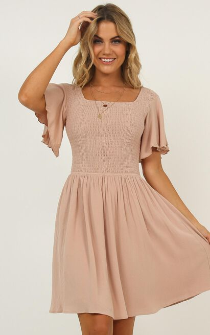 Only For Her Dress in mocha - 20 (XXXXL), Mocha, hi-res image number null