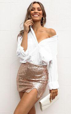 New Look Top In White Linen Look