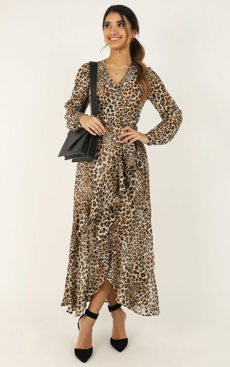 Trust In You Dress In Leopard Print