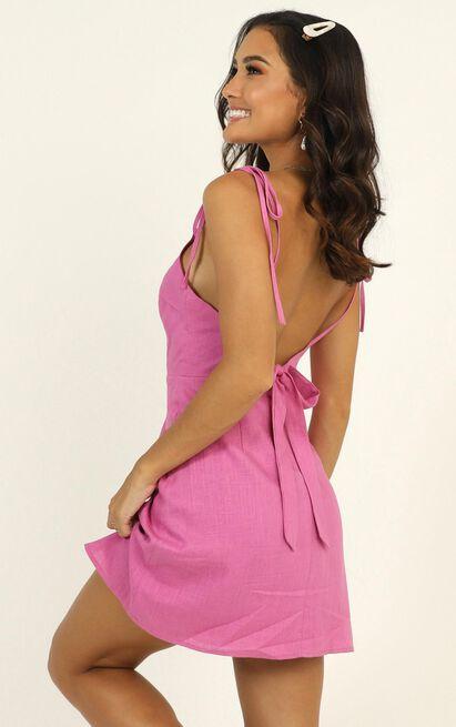 Santa Monica Stroll dress in pink - 14 (XL), Pink, hi-res image number null
