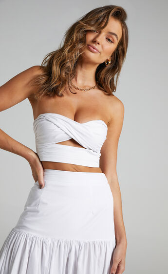 Runaway The Label - Ayla Top in White