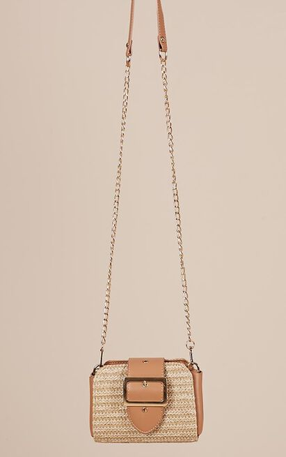 Buckle Up bag in tan, , hi-res image number null