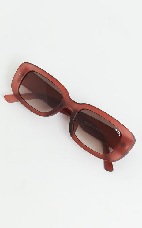 Roc - Creeper Sunglasses in Matte Crystal Fig
