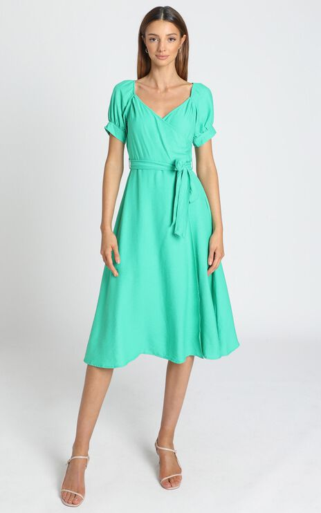 Victoria Dress in Green