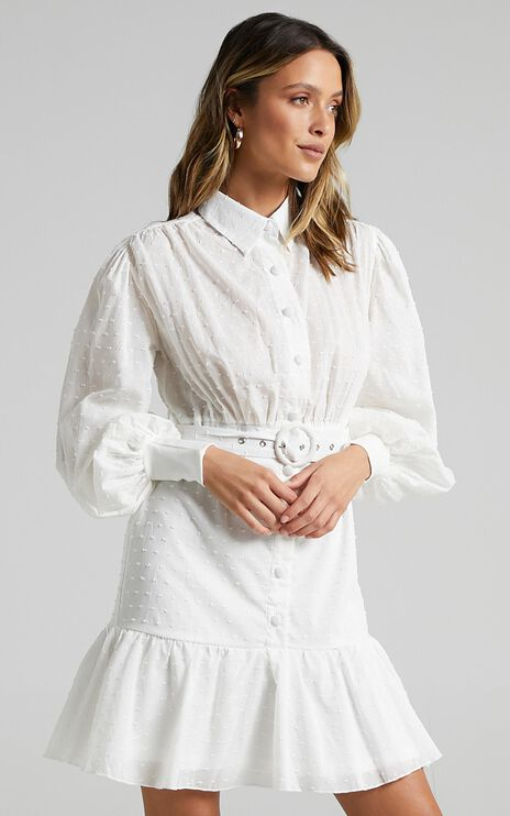 Turella Dress in White