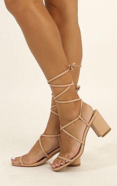 Billini - Yolanda heels in nude - 10, Beige, hi-res image number null