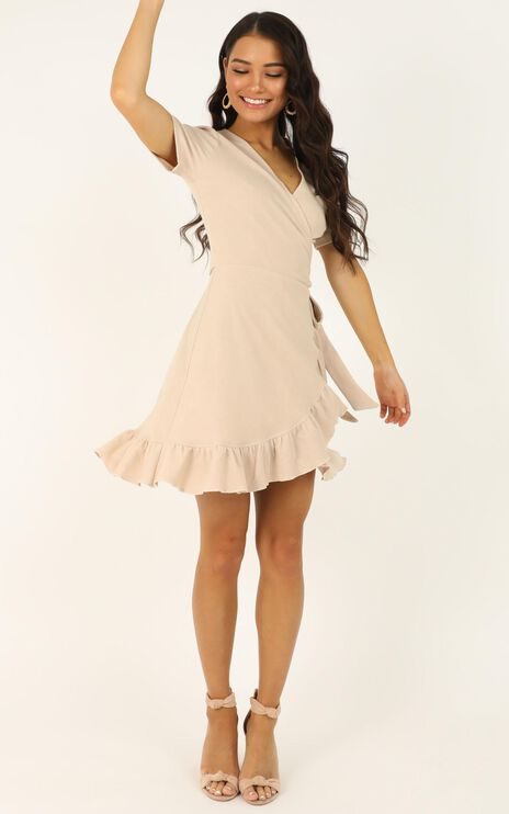 This Is Happening Dress In Cream