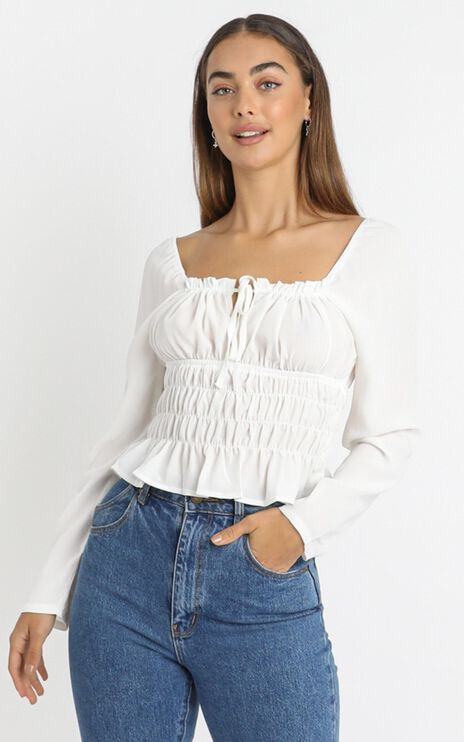 Elen Top in White