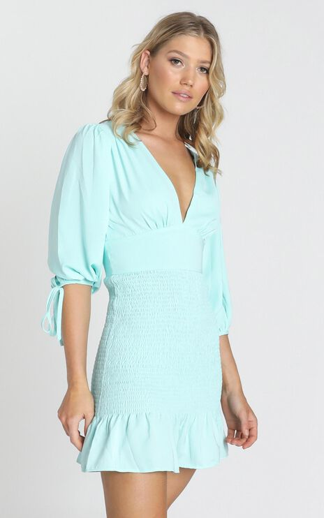 Albany Dress in Teal