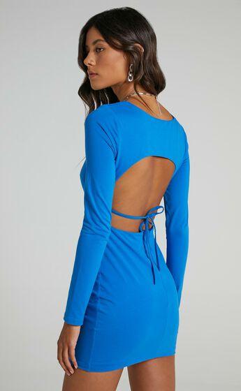 Claudie Dress in Cobalt