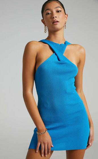 Lioness - Sonny Mini Dress in Blue