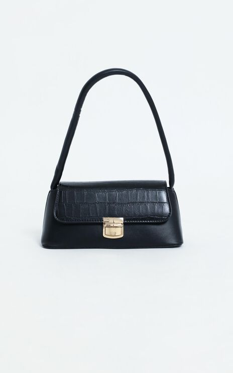 Be Honest bag in black