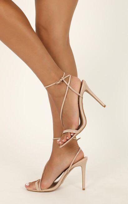 Billini - Tawnie heels in nude patent - 10, Beige, hi-res image number null
