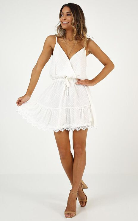 La Parisienne Dress In White