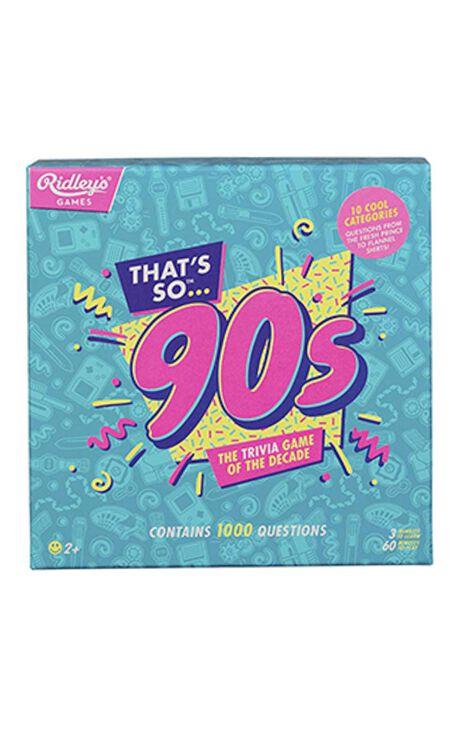 Thats So 90s Quiz UK