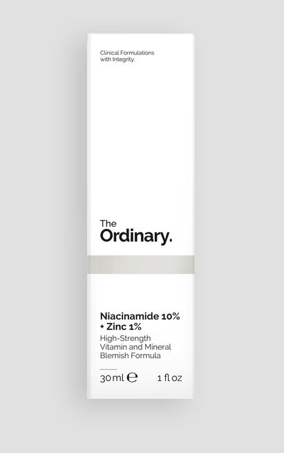 The Ordinary - Niacinamide 10% + Zinc 1% - 30ml , Black, hi-res image number null
