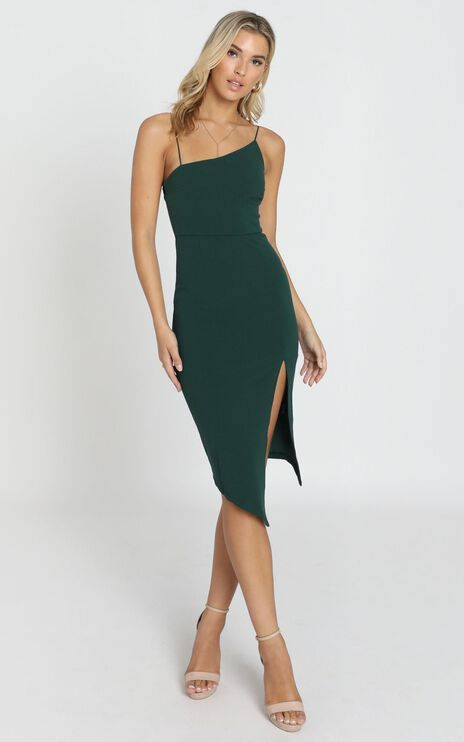 Life Changing Dress In Emerald Green