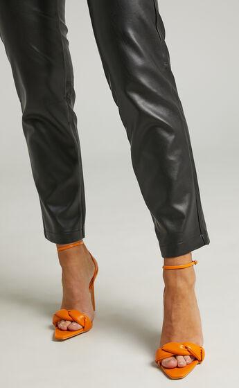 Public Desire - Tutu Heels in Orange PU