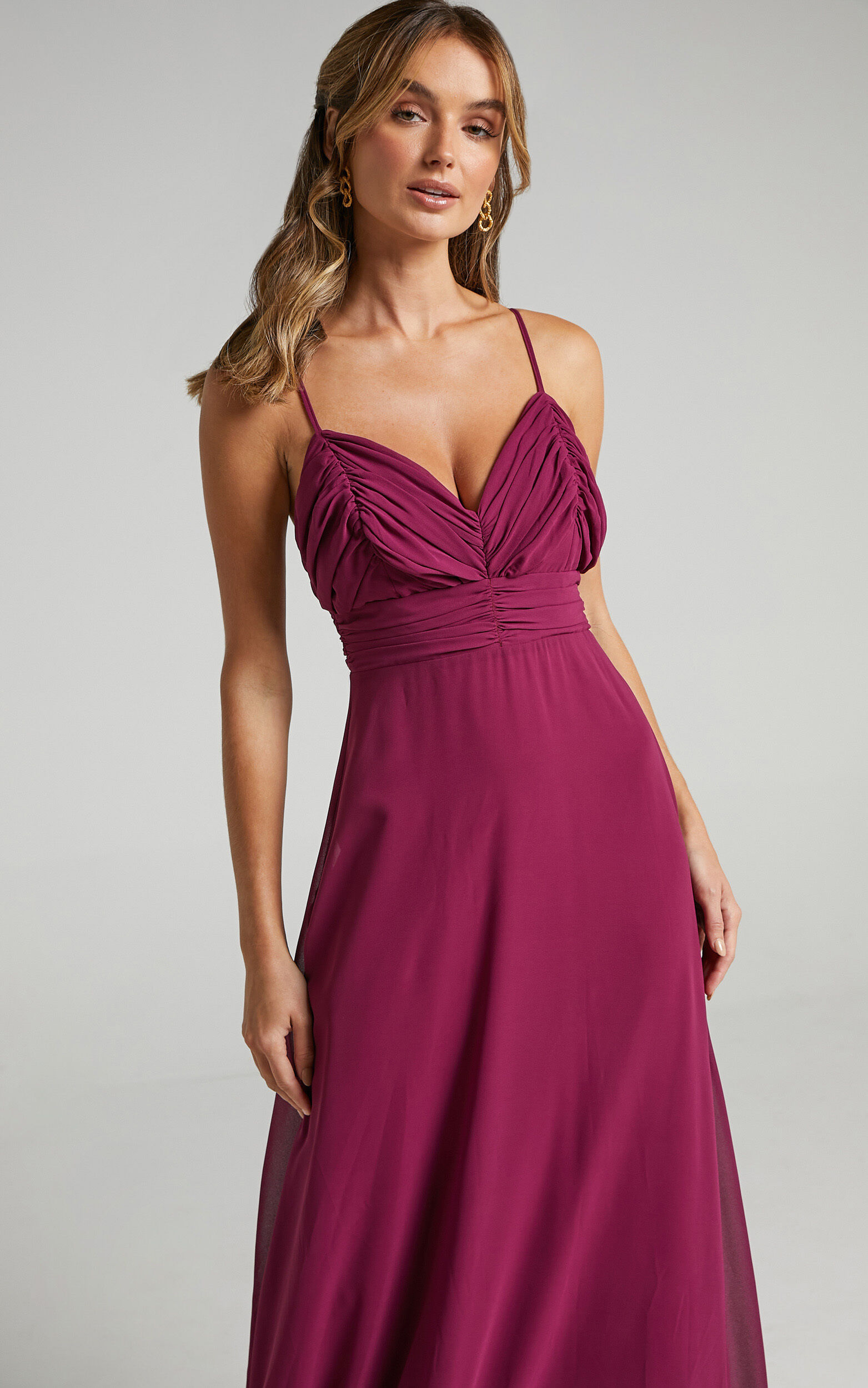Just One Dance Dress in Mulberry - 06, PRP2, super-hi-res image number null