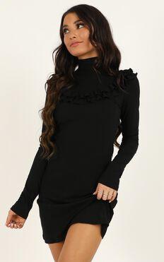Magnify Dress In Black