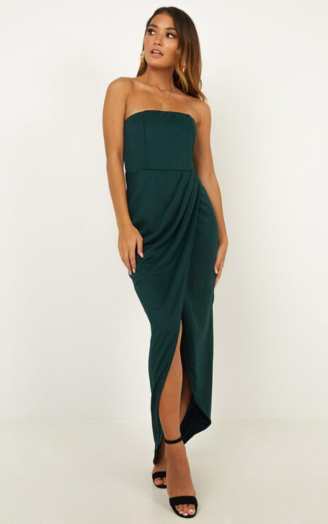 Already Home Dress in Emerald
