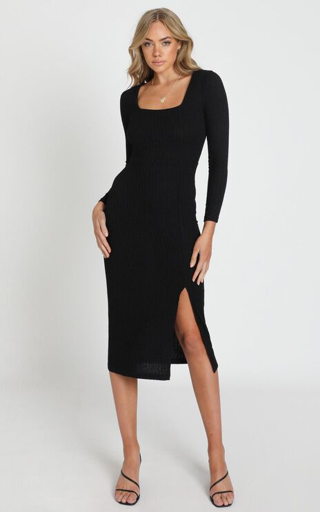 Enjoy The Moment Dress in Black