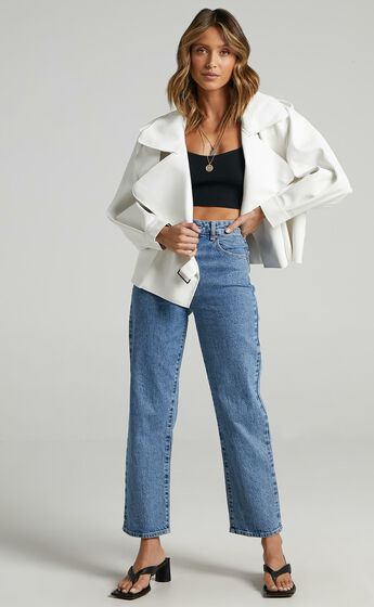 Hanley Jacket in White