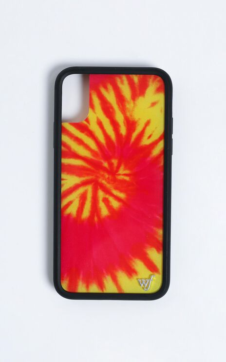 Wildflower - Iphone Case in Swirl Tye Dye