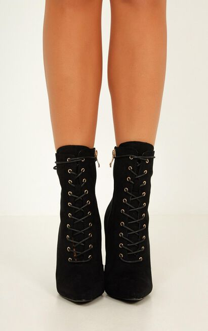 Billini - Narla Boots in black micro - 10, Black, hi-res image number null