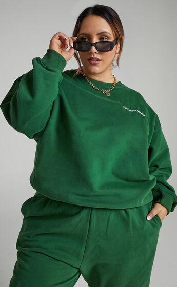 Sunday Society Club - Gael Sweatshirt in Green