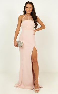 Still Love You Dress In Blush