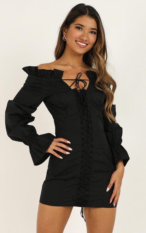 Lioness - Highway Skyline Dress In Black
