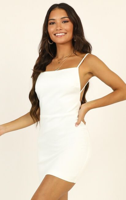 Here In Paradise Dress in white - 14 (XL), White, hi-res image number null