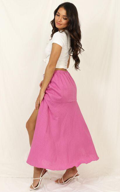 Break The Habit skirt in pink - 14 (XL), Pink, hi-res image number null