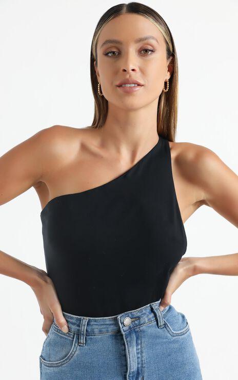 Dianella Bodysuit in Black