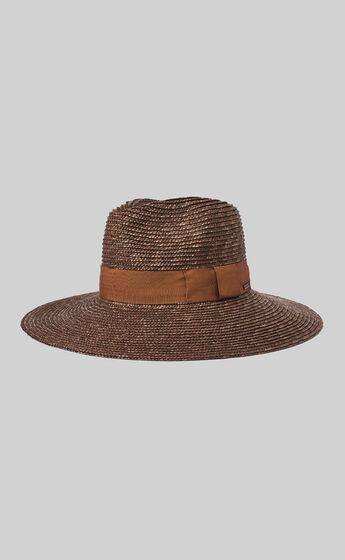 Brixton - Joanna Hat in Brown Caramel