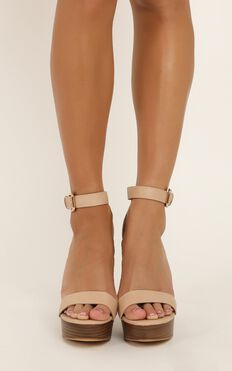 Billini - Egypt Heels In Nude